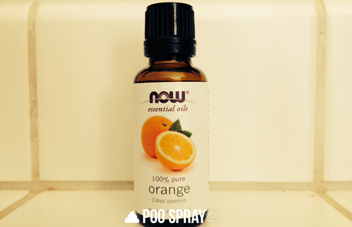 DIY Poo Pourri Recipe - Orange Essential Oil