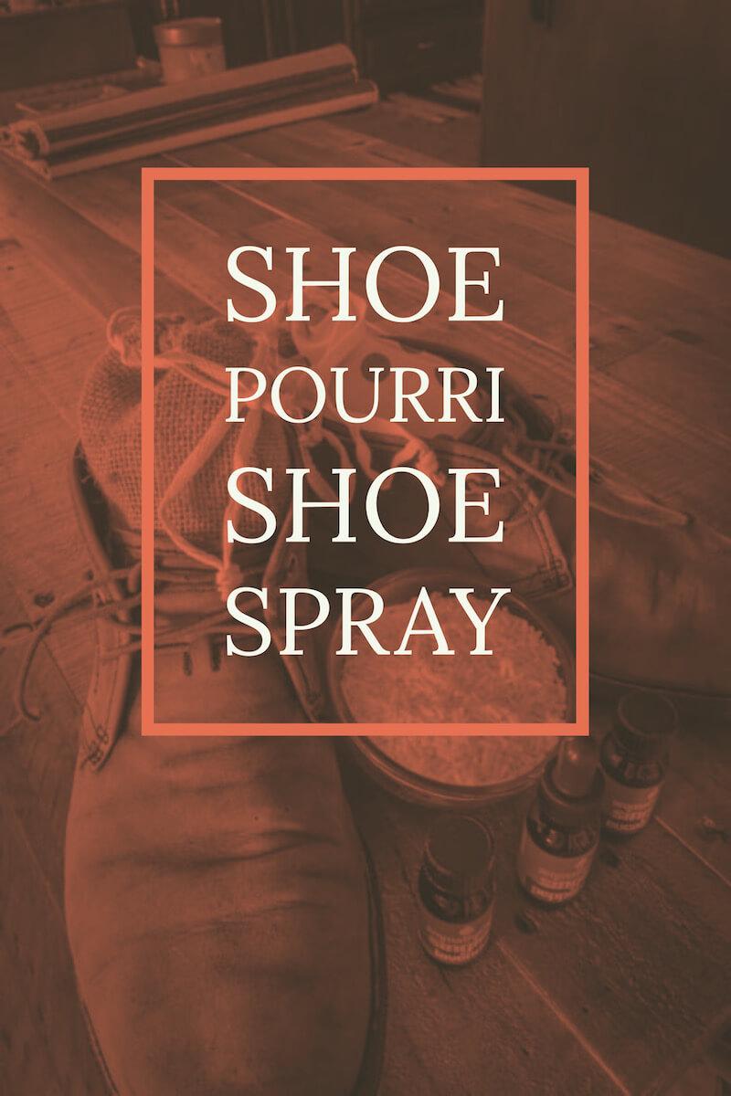 Shoe Pourri Shoe Spray