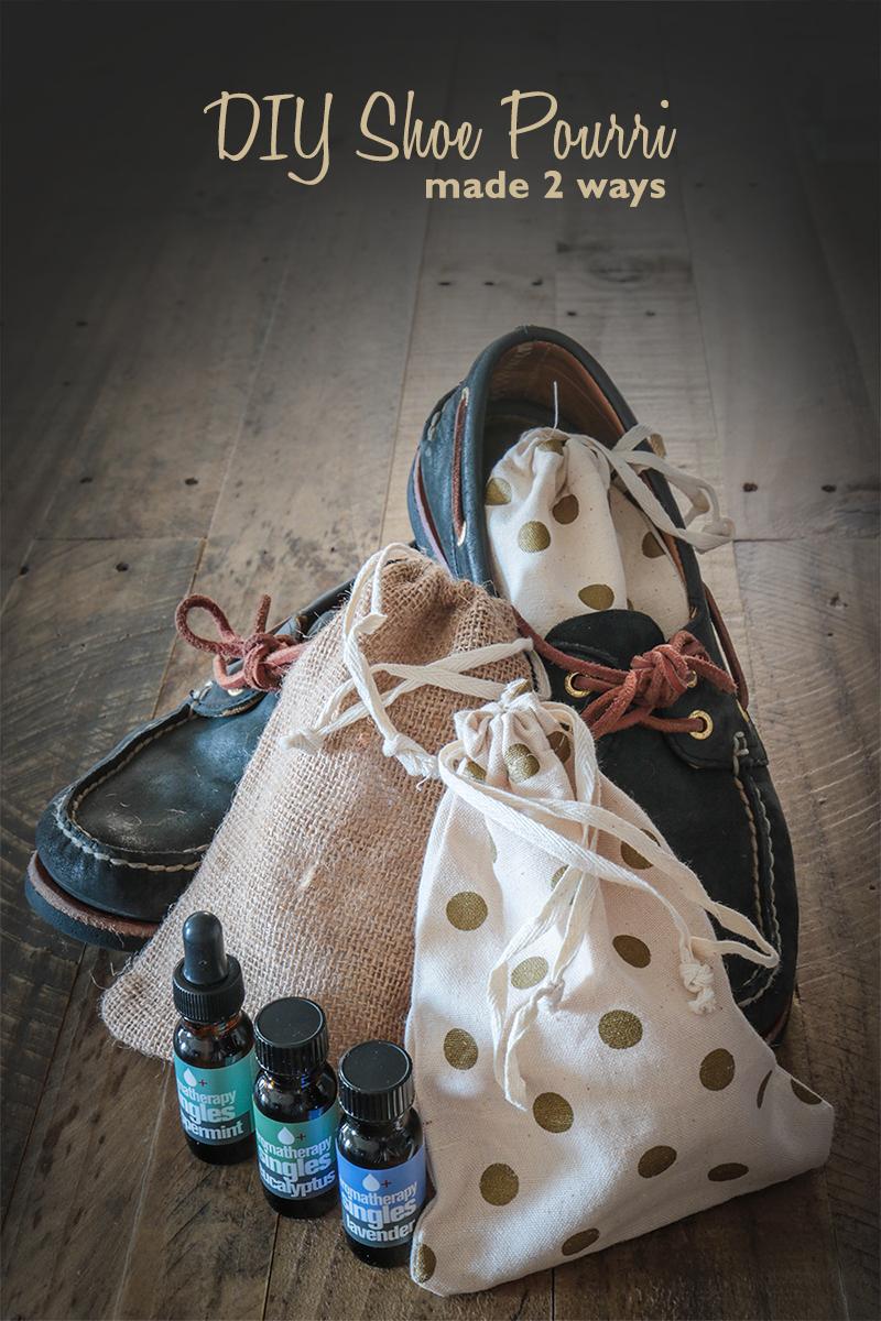 DIY Shoe Pourri