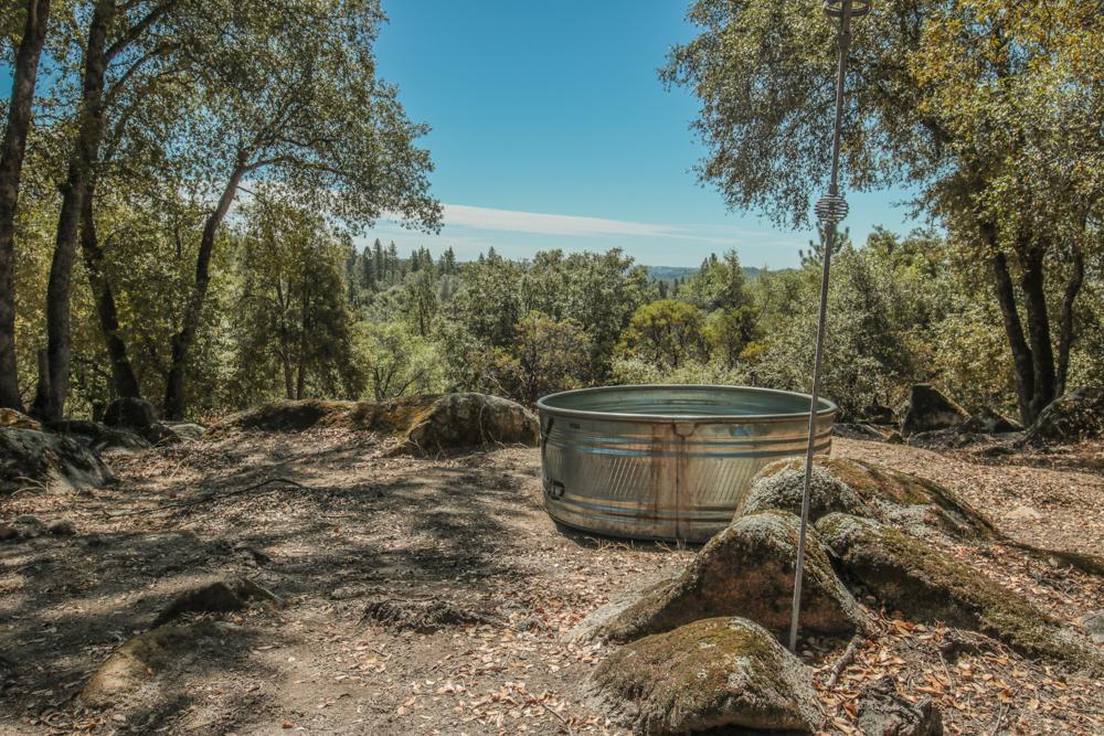 Stock Tank Pool in Nature