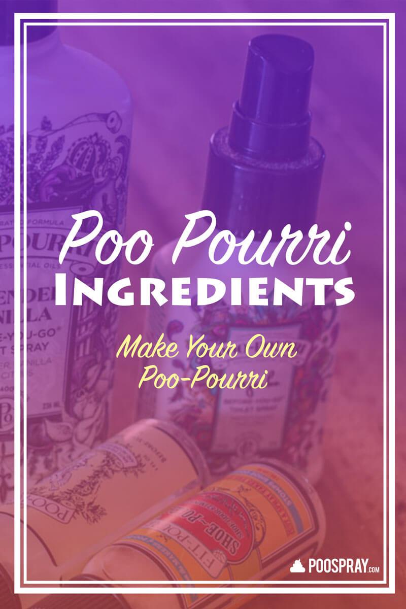 Poo Pourri Ingredients