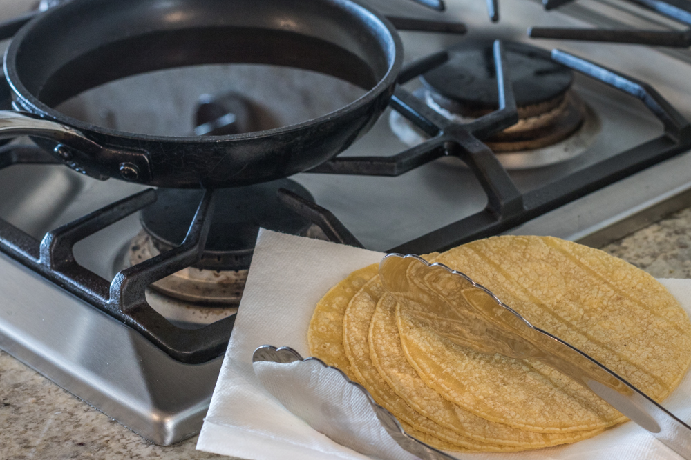 The Best Taco Shells - Corn Tortilllas