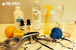 DIY Poo Pourri Recipe Ingredients