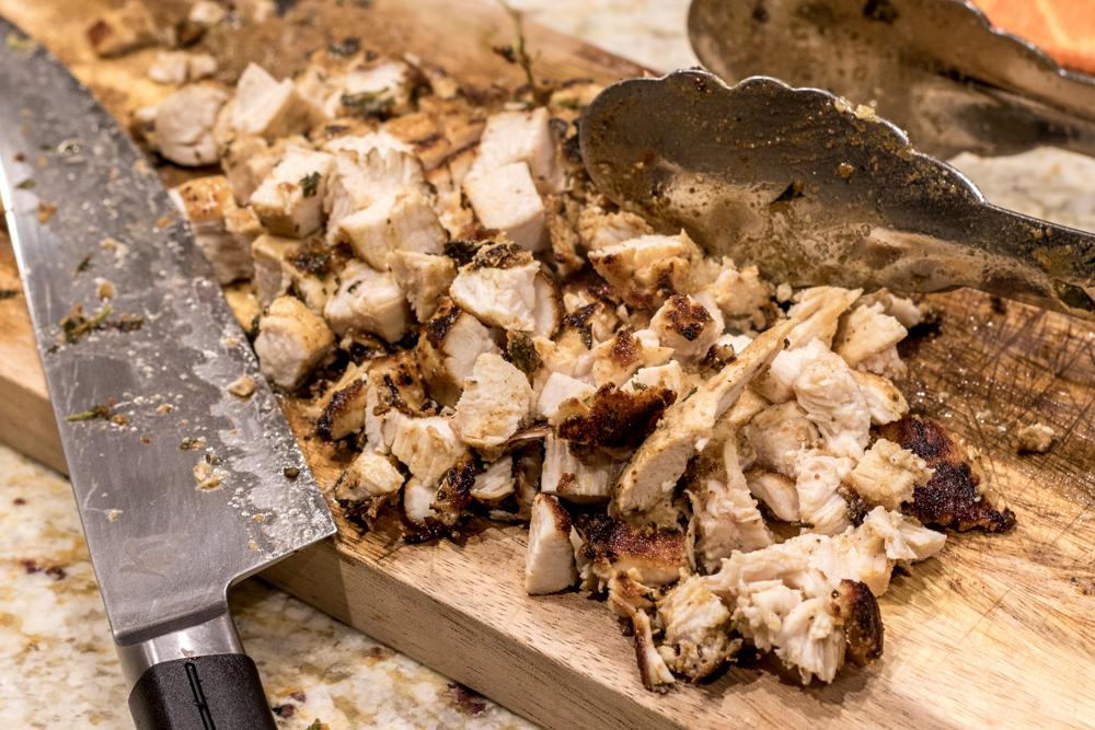 Blackened Chicken Tacos - Chopping Chicken