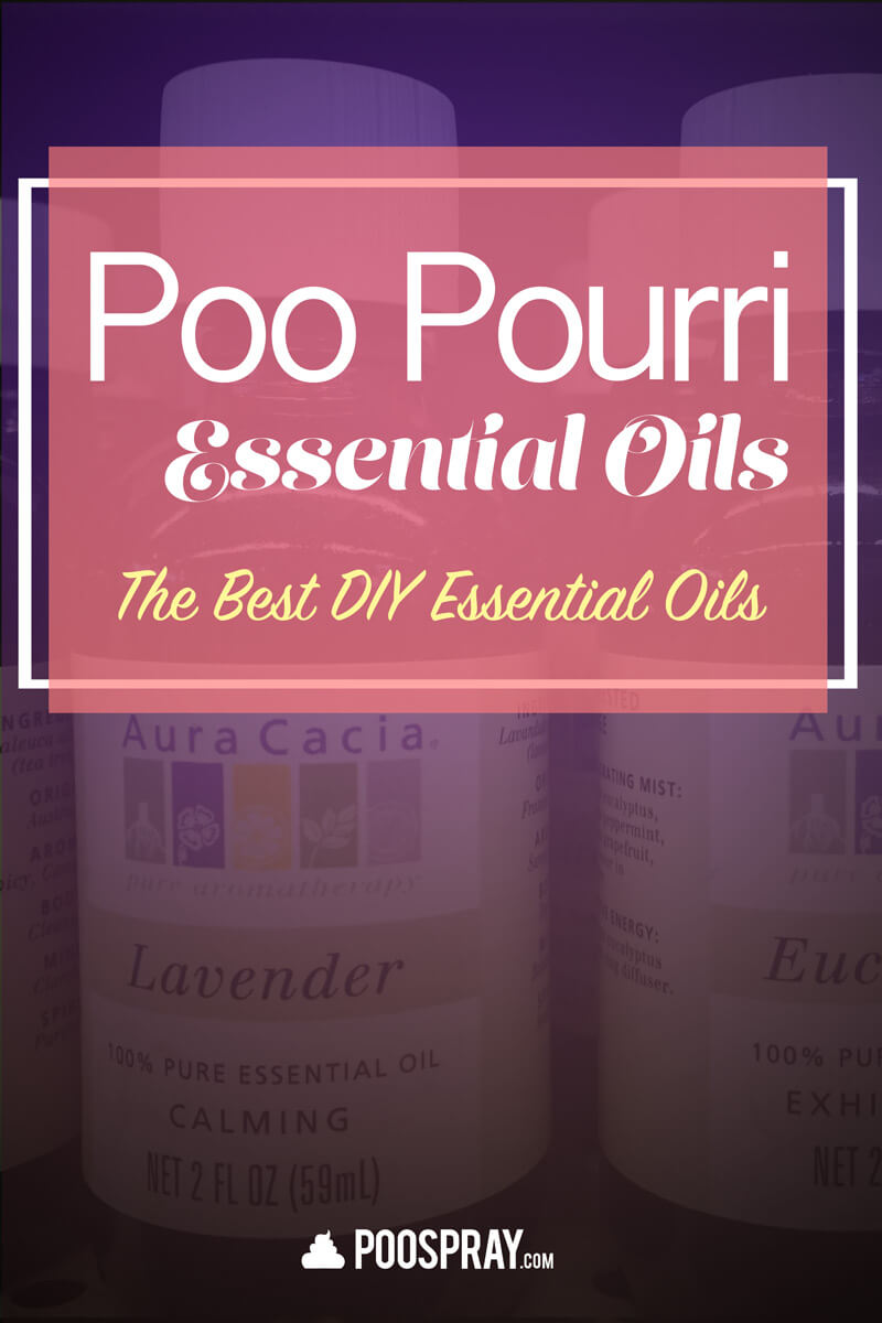 Poo pourri Essential Oils