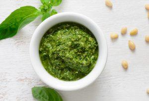 Homemade Pesto Sauce - Gallstone Friendly Recipe