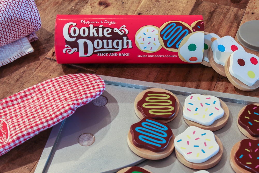 Doug and Melissa Wooden Cookie Dough Cookies Play Set