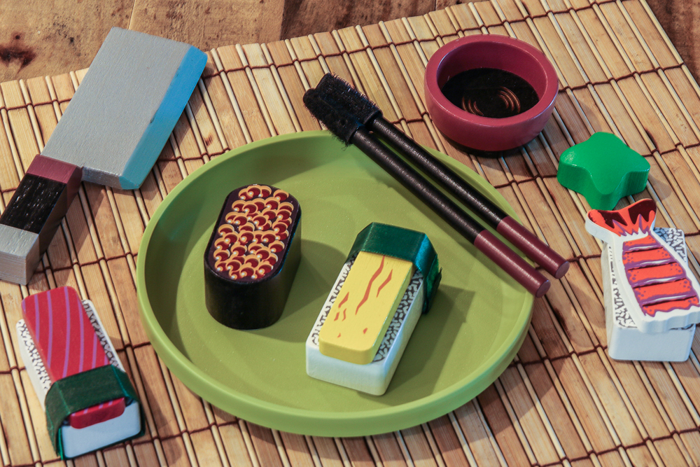 Doug and Melissa Wooden Sushi Set Review